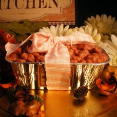 Bread Pan Candle With Topping