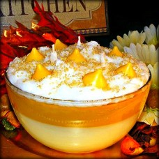 Layered Butterscotch Coconut Cream Candle