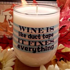 Wine or Birthday Candle